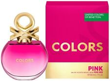 Treehousecollections: Colors de Benetton Pink EDT Perfume For Women 80ml