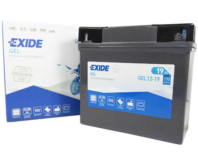 BATTERIA EXIDE GEL 12 19 MOTO BMW K 1200 1.2 R1150R / R RS RT 1150 / K 1300 R S