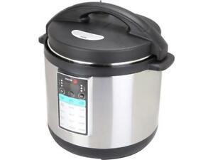 Fagor 976010395 LUX MAX Multi-Cooker, 8 Quart, Silver