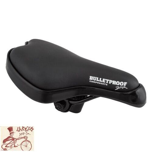 BLACK OPS MX//FREESTYLE BLACK BICYCLE SADDLE SEAT