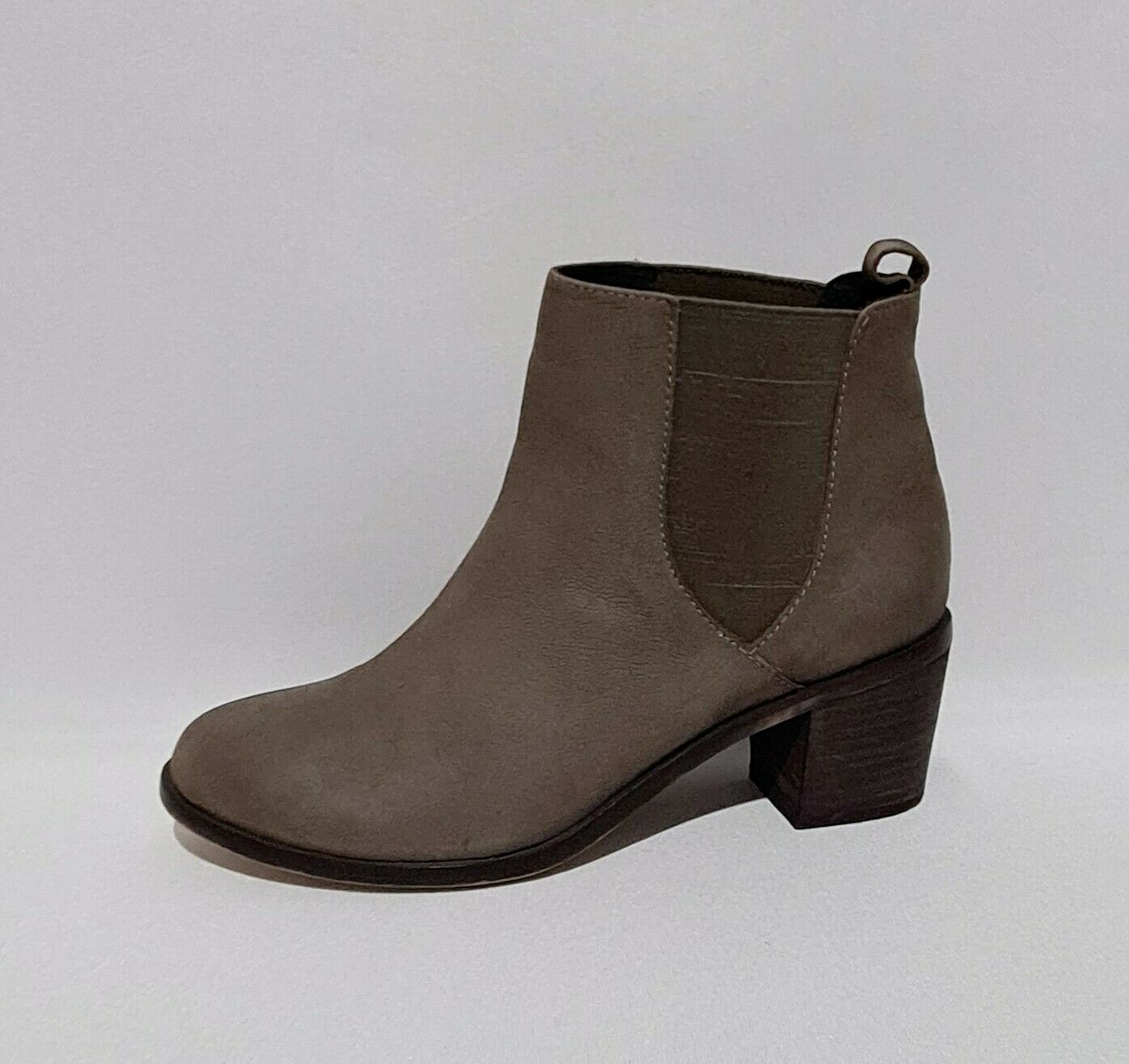 Topshop Brown Genuine Leather Ankle Boots UK 7 / EU 41 VGC