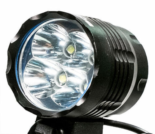 4x CREE XML T6 LED vorne Fahrrad Wiederaufladbar Leuchte Scheinwerfer