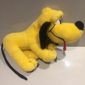 DISNEY-VINTAGE-plush-Pluto-70s-80s-Dog