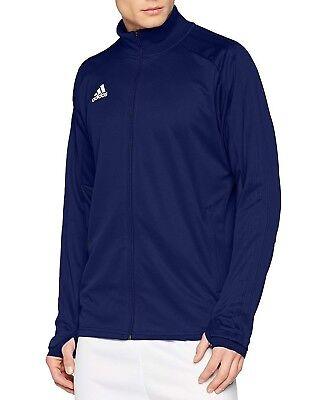 Original Adidas Condivo 18 CG0407 Veste de survêtement. bleu foncé et blanc, large, NEUF | eBay