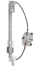 LiftTek-LH-Rear-Window-Regulator-For-VW-Tiguan-2007-LTVK724L-5N0839461A-NEW