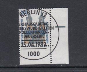 BRD-Mi-Nr-1665-zentrisch-gestempelt-ESST-Bogenrand-Eckrand-Ecke-3