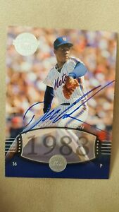 2004-DWIGHT-GOODEN-Auto-SP-283-UD-Timeless-Teams-Very-Short-Print