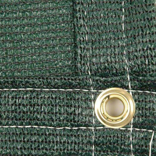 Made in USA Green Color Clearance Economy Mesh Tarp 87/% Knitted Polyethylene