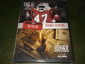 """The U ~ """"BROKE""""~ ESPN 30 For 30 Blu-ray With Slipcover ..."""