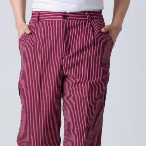 Pantalon à Élastique Chefs Bas Cuisinière Hommes Femmes Pantalon de