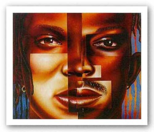 AFRICAN AMERICAN ART Diversities by Larry Poncho Brown