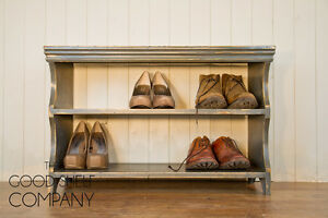 Shoe-Storage-Rack-Bench-Cupboard-Shelf-Cabinet-Vintage-Shabby-Chic-GOOD-SHELF-Co