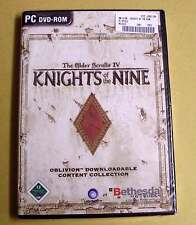 PC GAME GIOCO-Knights of the Nine (The Elder Scrolls IV 4 Oblivion) - NUOVO OVP