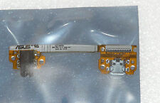 100%GENUINE ASUS NEXUS 7 HEADPHONE AUDIO MICRO USB POWER DC JACK BOARD FLEXCABLE