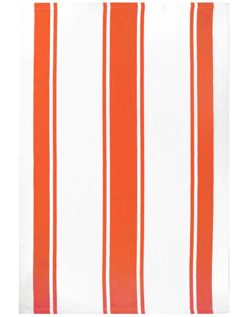 MUkitchen 20 x 30 Cotton Stripe Towel Set of 2 Sand