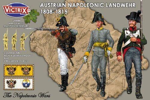 AUSTRIAN NAPOLEONIC LANDWEHR- VICTRIX - AUSTRIAN NAPOLEONIC - SENT FIRST CLASS