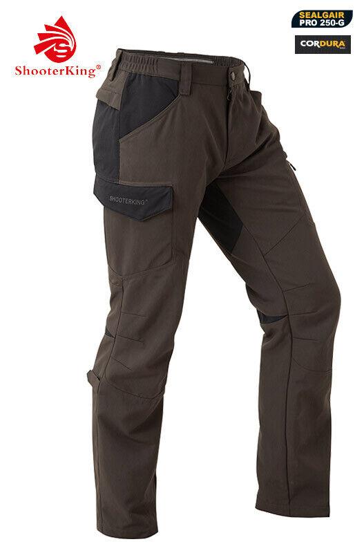 Shooterking - Pantalón de Caza Active Lite Cordura Ajustado
