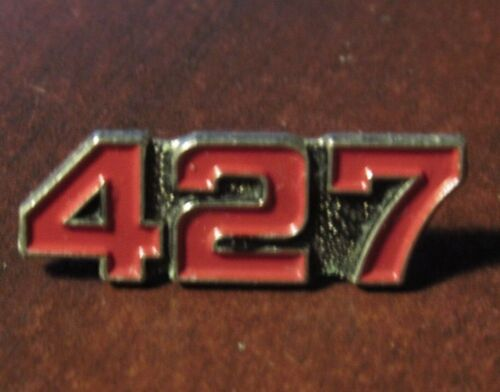 Red Vintage 427 Chevy Big Block Hat Lapel Pin