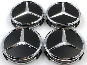 4-pcs-Mercedes-Benz-Cache-Moyeu-AMG-W117-CLA45-W205-C63-W207-W176-A45-X156-GLA45