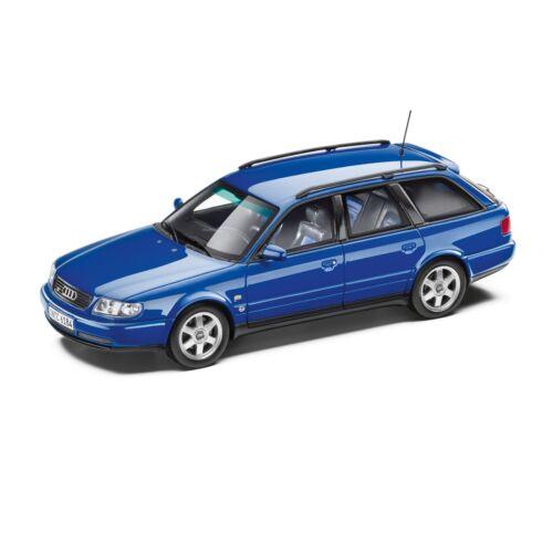 Audi originales s6 plus avant 1:43 nogaroblau limitado Minimax 5031300113-nuevo