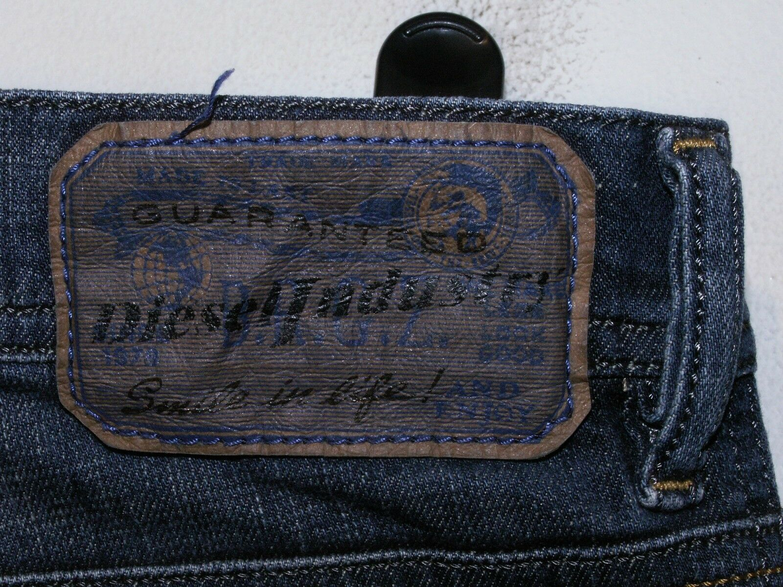 DIESEL Tepphar Tepphar Tepphar Slim-Carota Fit Jeans Wash 0R0JJ Stretch W32 L32 (a4443) 456463