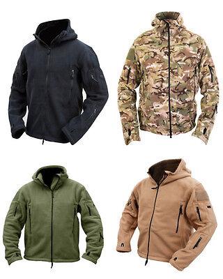 Tactical Recon Hoody Military Zip Up Fleece Hoodie