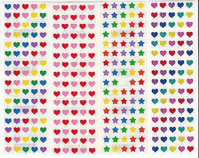 ❤  Mrs Grossman HEART RED SPARKLE GLITTER Vintage 1993