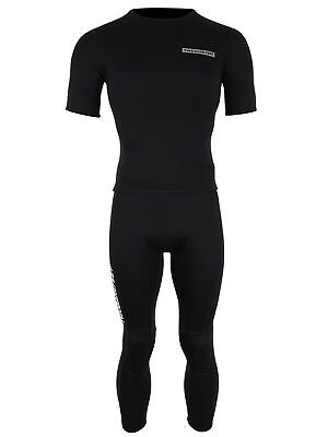 MD Fleece Lined 3mm Mens Thermal Surf Top by TWO BARE FEET