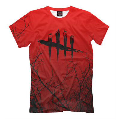 DbD t-shirt - savage Killer simulator horror video game Dead by Daylight tee