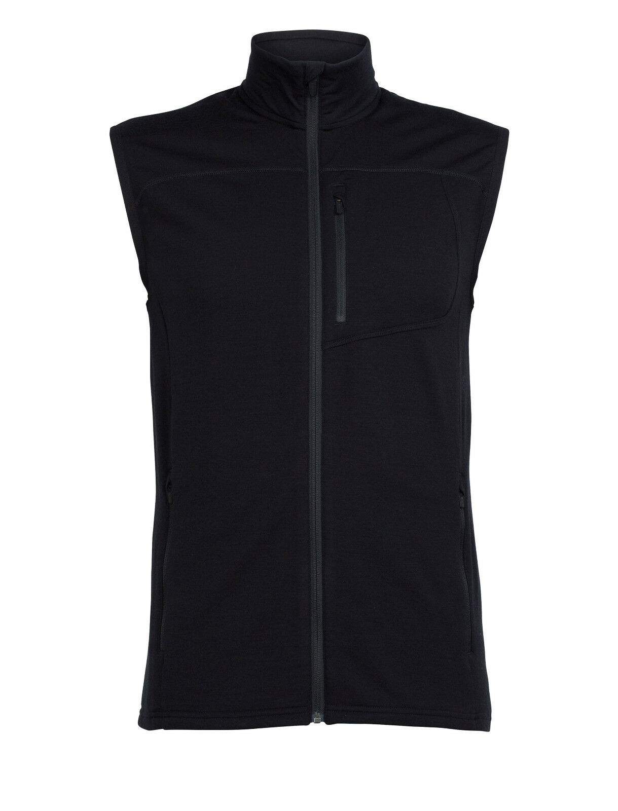 Icebreaker - Realfleece Mt Elliot Vest - Sports Vest Men's - 200 G M ² - Merino