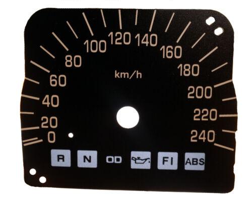 Honda Goldwing GL1800 SC47 Speedo KMH Tachoscheibe Tacho Gauge Dial Tachoblatt
