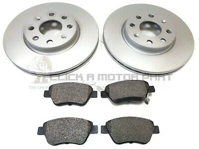 CHECK SIZE VAUXHALL CORSA D VAN 1.3 CDTi 06-14 FRONT 2 BRAKE DISCS AND PADS
