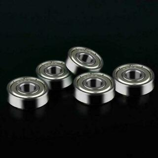 Qty 10 8x22x7mm 608-2RS C3 EMQ Premium Sealed Radial Ball Bearing