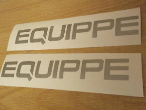Mitsubishi EQUIPPE quality sticker X2 replacement/alternative