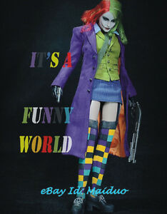 WOLFKING-1-6-Female-Joker-Action-Figure-WK89008A-Batman-Collectible-Toys-Gifts