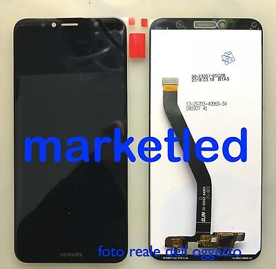 cover huawei y6 2018 nero