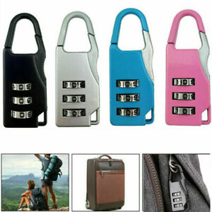 Travel-Security-Lock-Luggage-Bag-3-Digit-Combination-Resettable-Code-Password