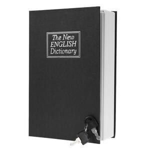 Creative-English-Dictionary-Shape-Money-Saving-Box-Book-Piggy-Bank-with-Key-N-S7
