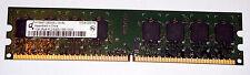 1 GB DDR2-RAM  2Rx8 PC2-5300U non-ECC  'Qimonda HYS64T128020EU-3S-B2'
