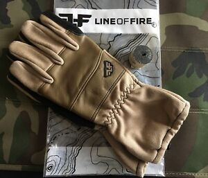 Line-of-Fire-Sortie-Coyote-Gloves-L-With-36-Tegs-Tape-Included