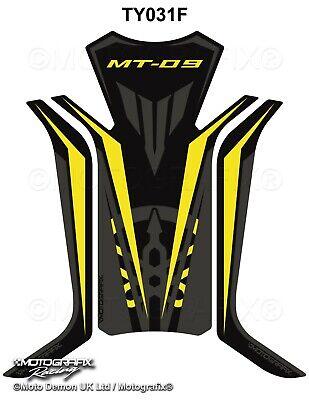Yamaha MT09 2013 14 15 MT-09 Black Motorcycle Tank Pad Motografix Gel Protector