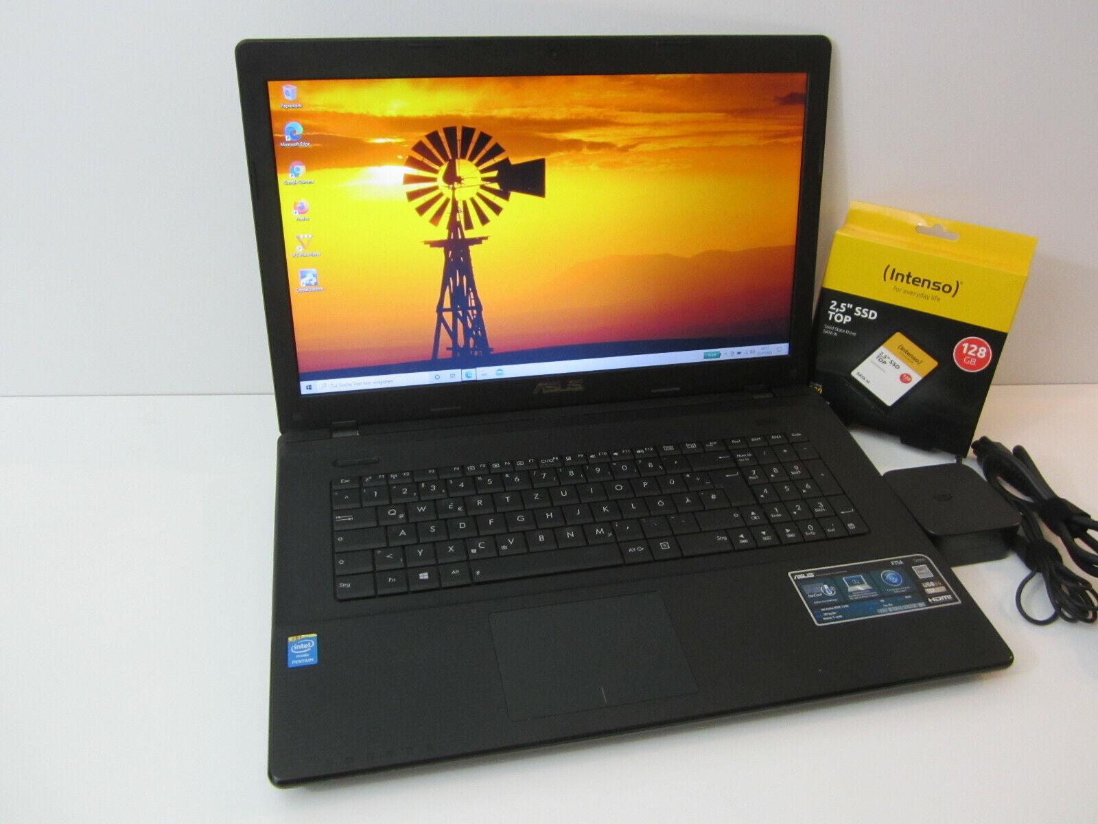 ASUS F75A / 17,3 Zoll Display / 8GB RAM / SSD-Festplatte / Windows 10 / TOP