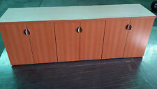 Conference Table 8 Ft With 3 Cabinets