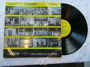 SONGS OF VICTORY LP CLACTON 1966 sharon 1224