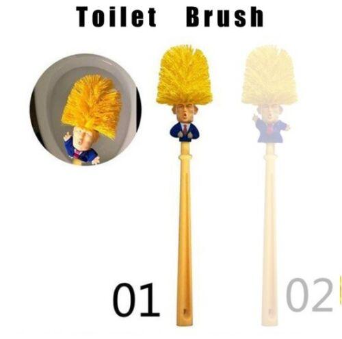 Toilet Brush Donald Trump Tissue Roll Home Hotel Washroom Clean Tools President