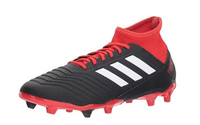 adidas Predator Size 9 Black Red 18.3