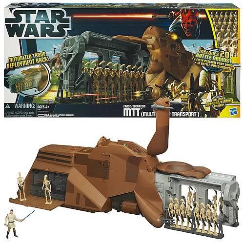 Los mejores precios y los estilos más frescos. Estrella WARS MTT Droid Droid Droid vehículo portador Set Nuevo Sellado  comprar barato