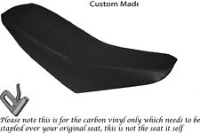 CARBON FIBRE VINYL CUSTOM FITS SUPERBYKE RMR 125 DUAL SEAT COVER ONLY