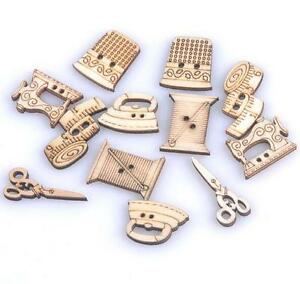 Mixed-Natural-Sewing-tool-wooden-Handmade-Buttons-Scrapbooking-Craft-decoration
