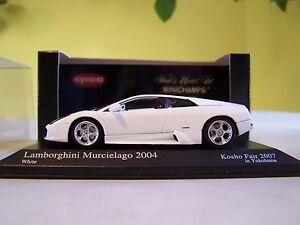 1-43-Minichamps-2004-Lamborghini-Murcielago-Kyosho-Toy-Fair-2007